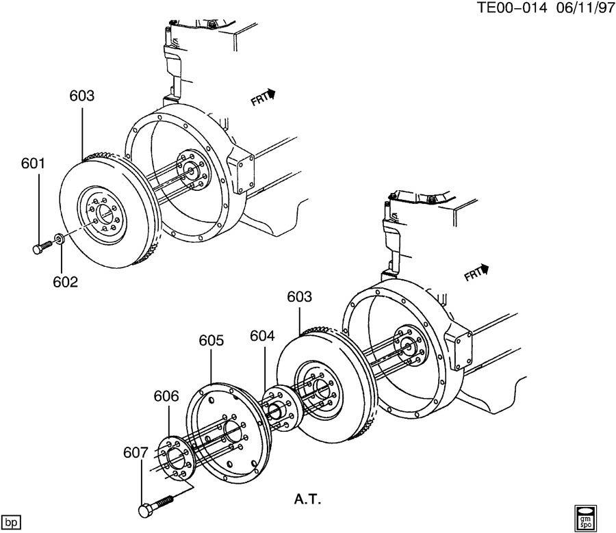 flywheel mounting