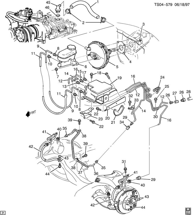 chevrolet s10 fitting  vacuum power brake  fitting  p  b