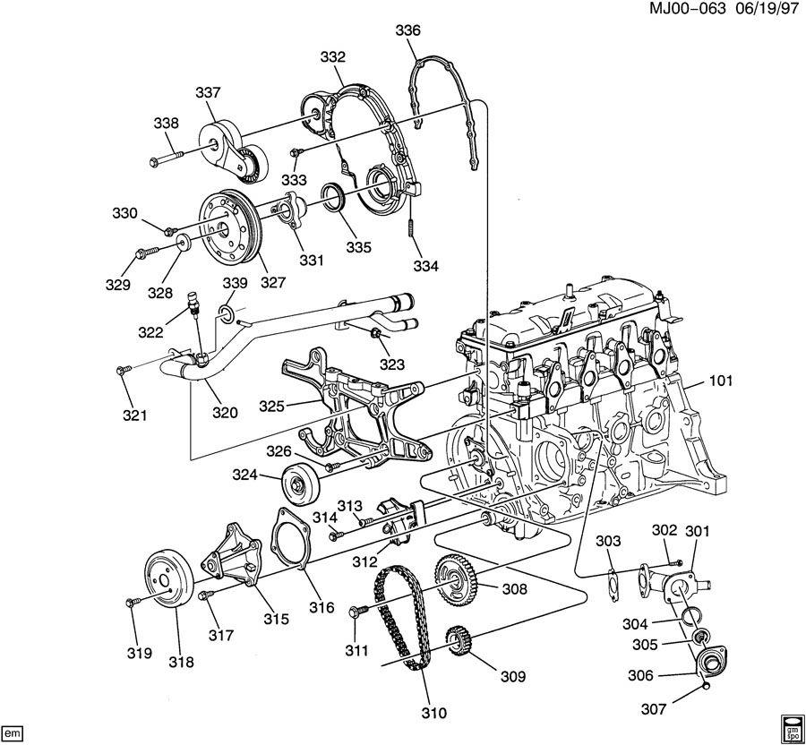 diagram  2004 chevy cavalier 2 2 engine diagram full