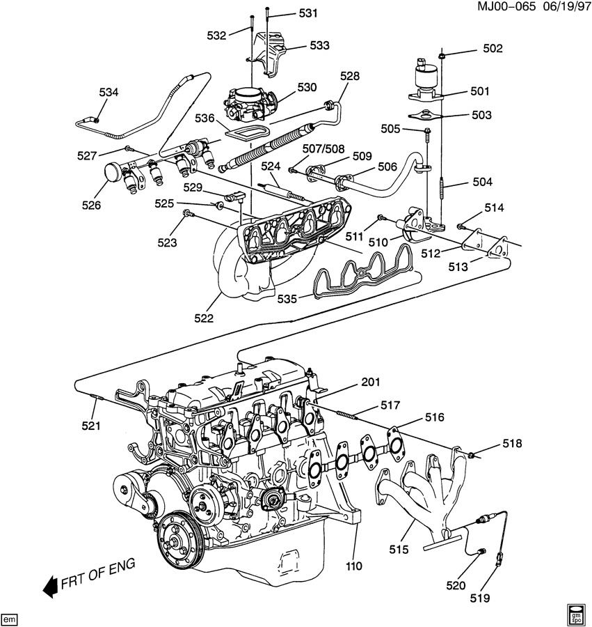 Chevy Cavalier Z24 2 4 Engine Diagram - Wiring Diagram All die-paper -  die-paper.huevoprint.it | 99 S10 Engine Diagram |  | Huevoprint
