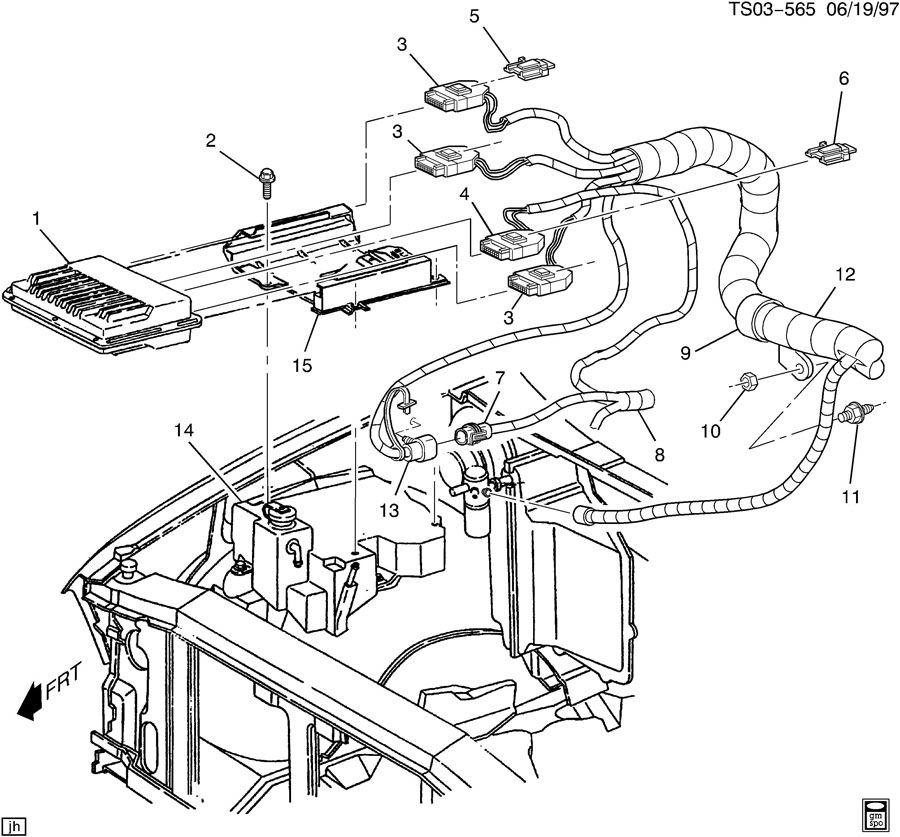 v c m  module  u0026 wiring harness