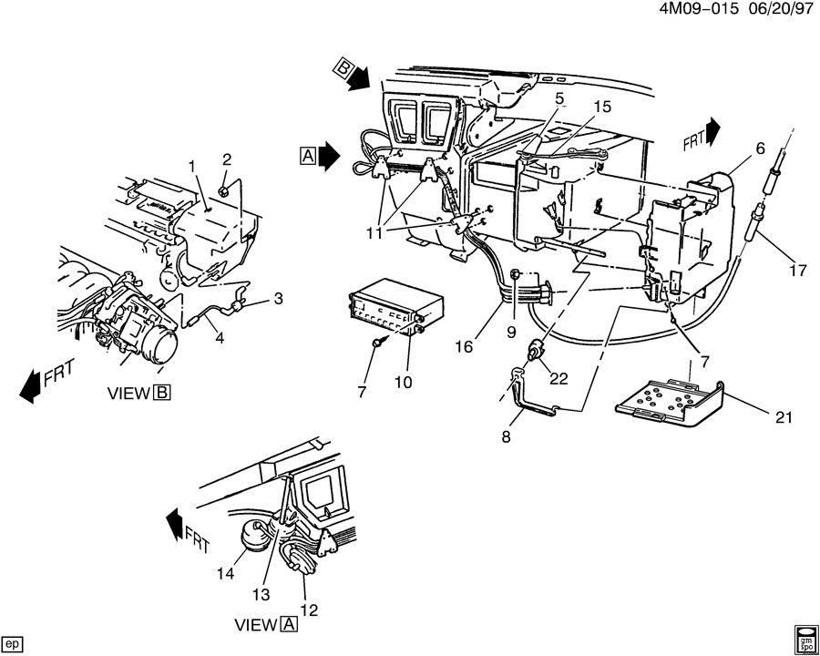 Buick Lesabre Programmer  A  C Electric Temperature And Motor Control