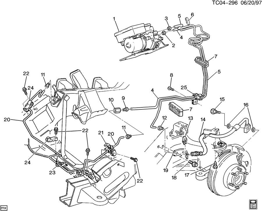 Pontiac Grand Am Clip; retainer; spring (pack of 10 ...