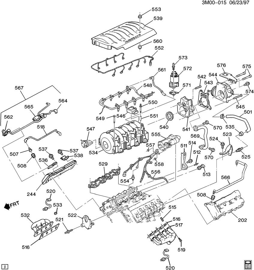 Chevrolet S10 Gasket  Emission System  Valveacdelco