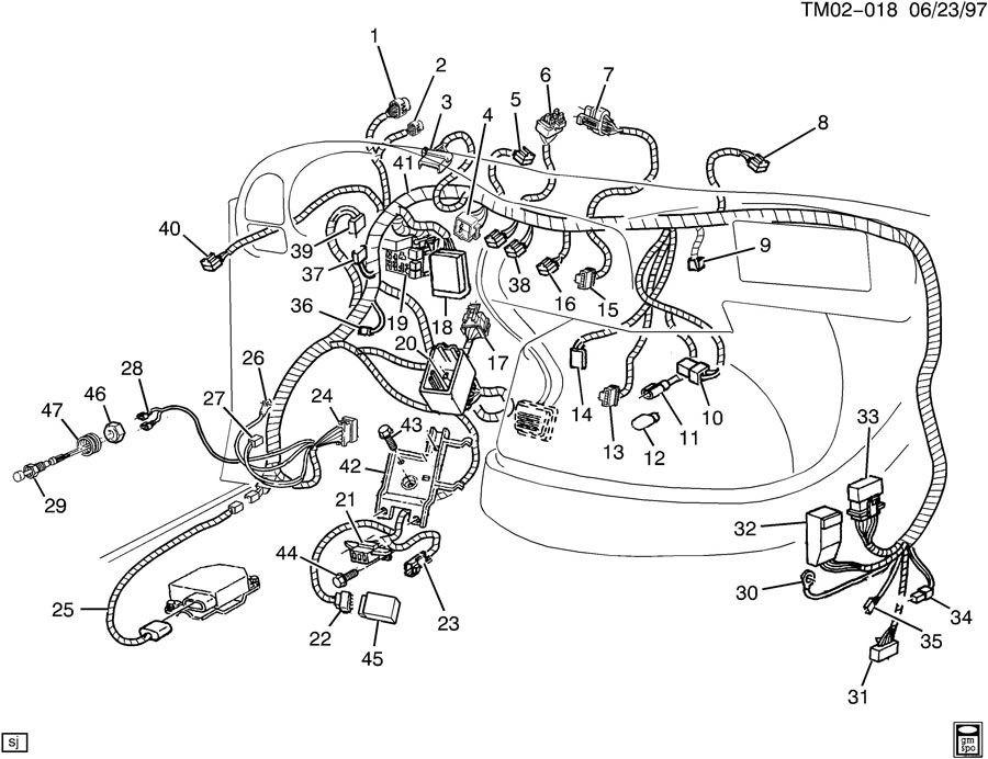 1994 gmc safari wiring diagram   30 wiring diagram images