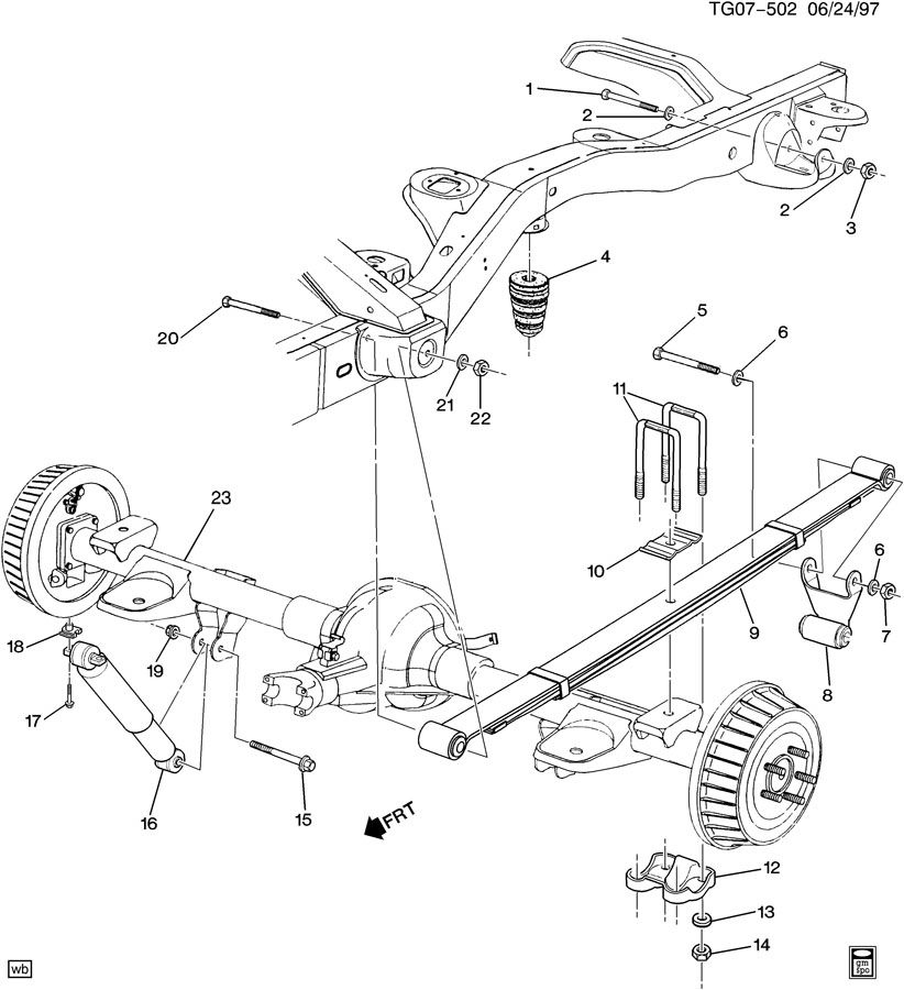 32 Chevy Express Front Suspension Diagram
