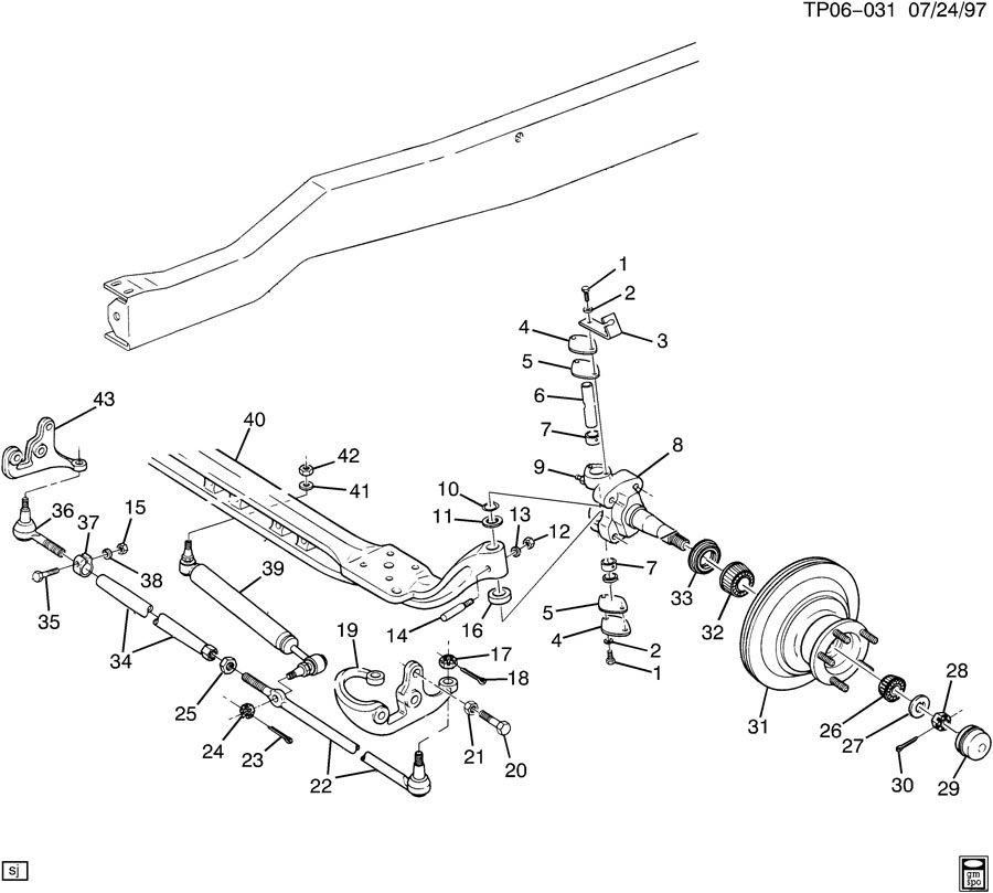 hhr suspension parts