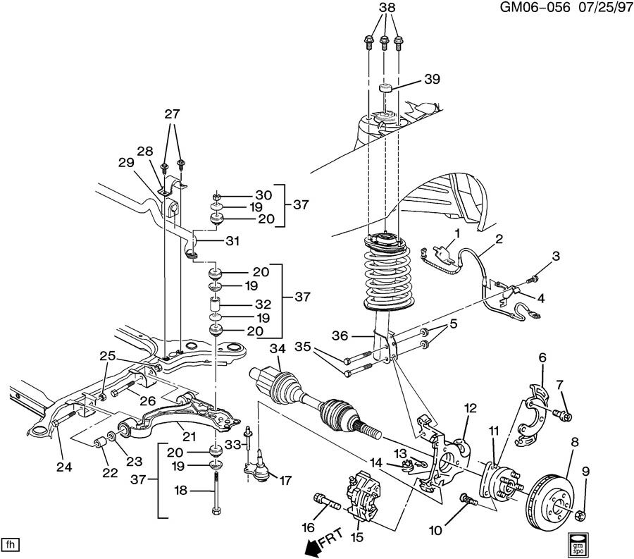 ShowAssembly on 1997 Buick Lesabre Engine Diagram