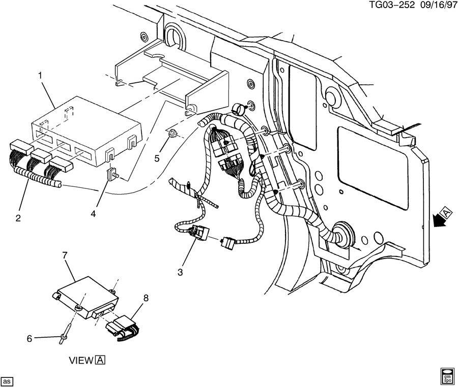 2000 gmc savana p c m module wiring harness. Black Bedroom Furniture Sets. Home Design Ideas