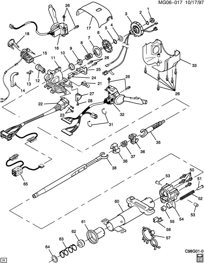 97 aurora engine diagram