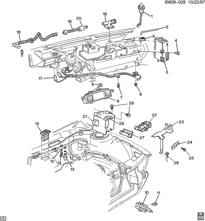 1994 Cadillac Deville 4 9l Engine Diagram