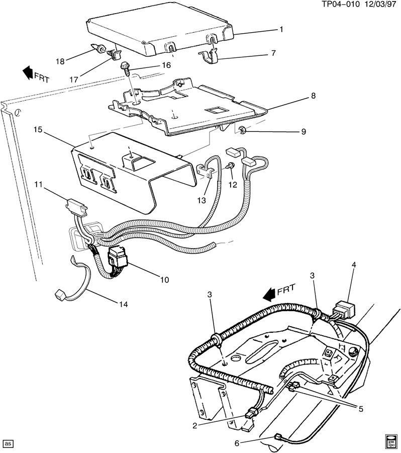 t c m  module  u0026 wiring harness