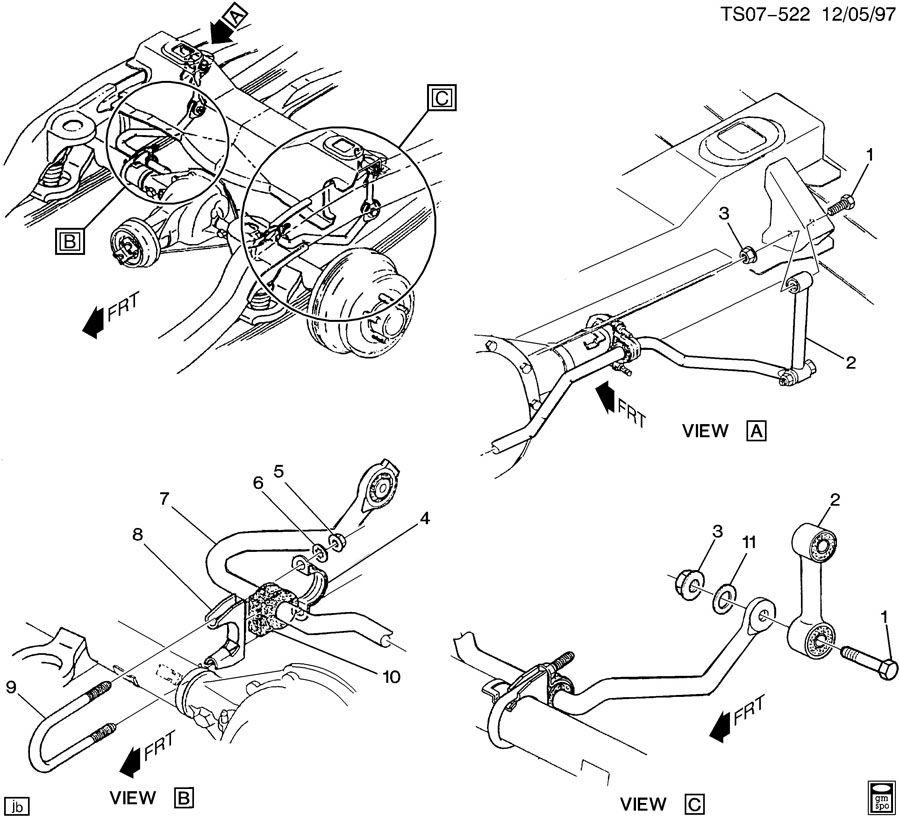 suspension  rear stabilizer bar