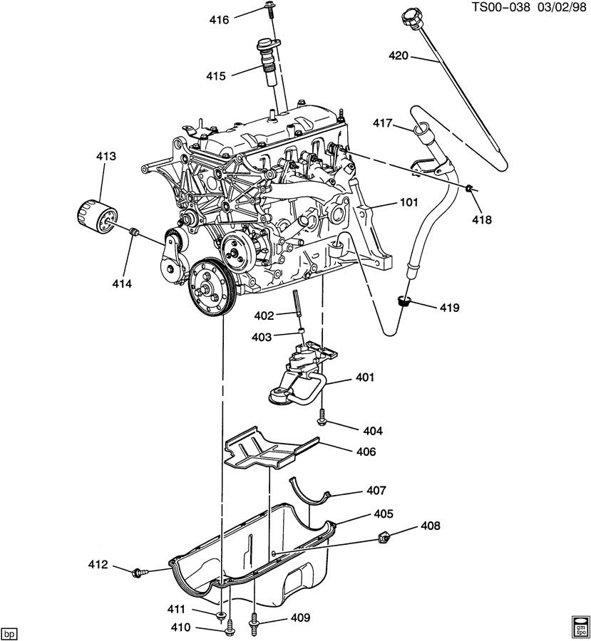 Gm L4 Engine Gm Free Engine Image For User Manual Download