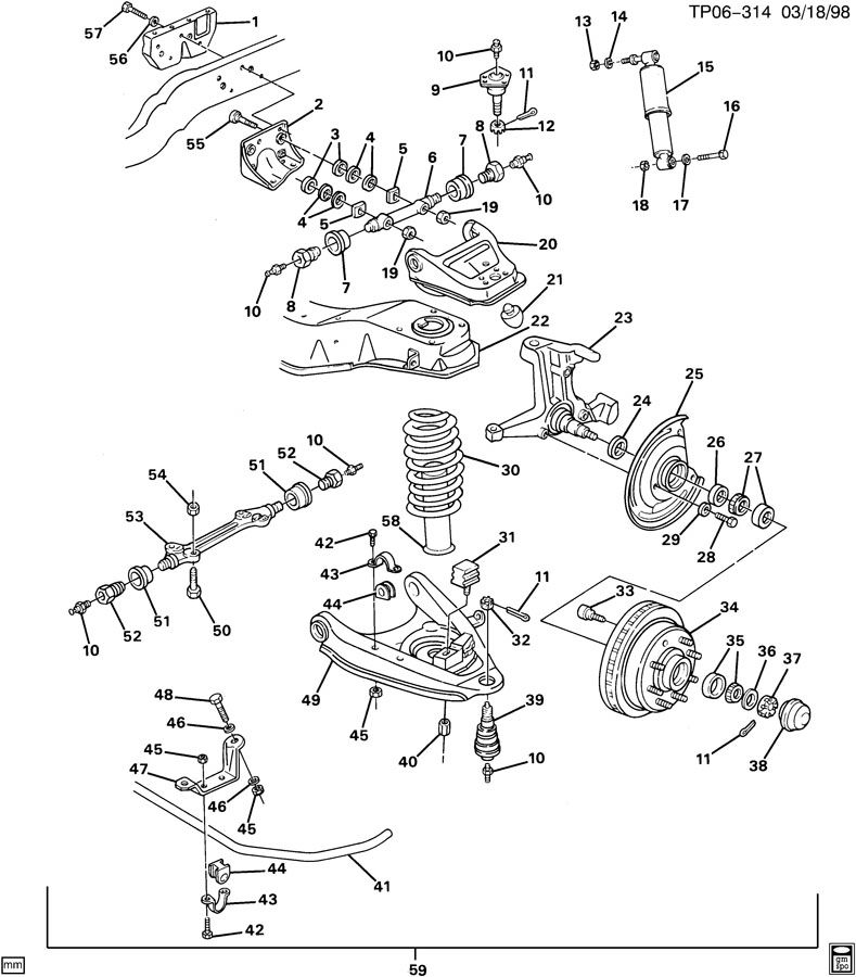 p30 chassis brakes