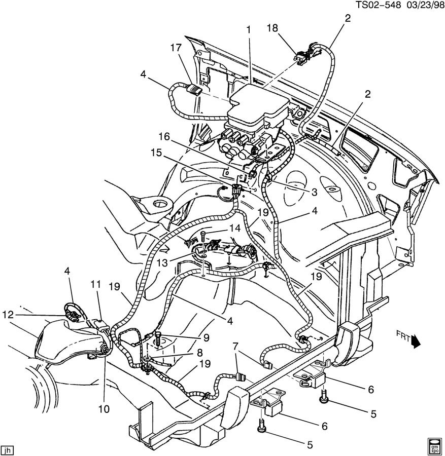 wiring harness  brake control  u0026 sir