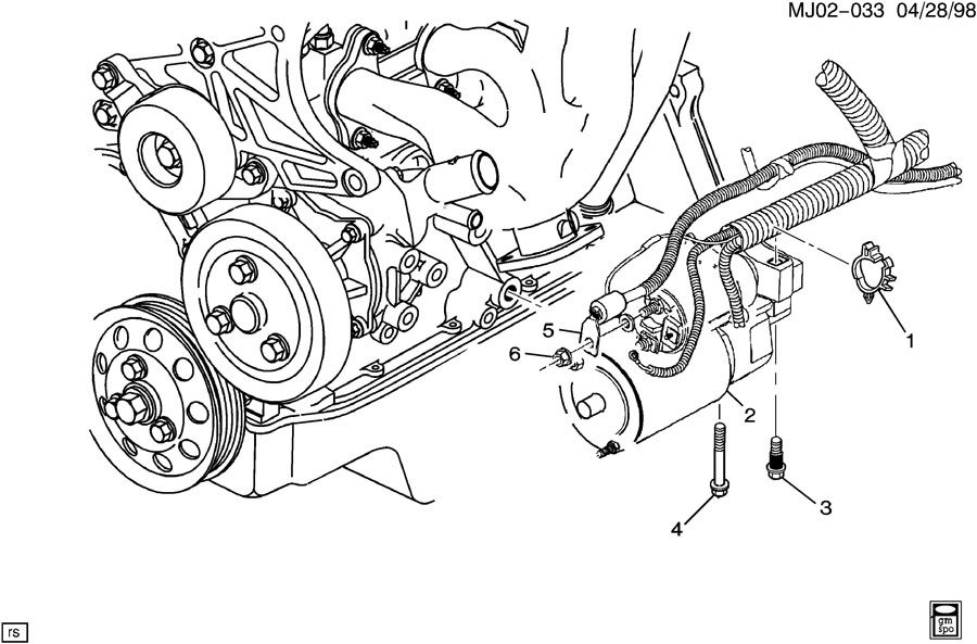 34 2002 Chevy Cavalier Exhaust System Diagram