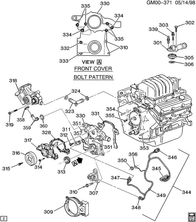 Chevrolet Monte Carlo Harness  Engine Wiring  Harness  Elek Icm Wrg