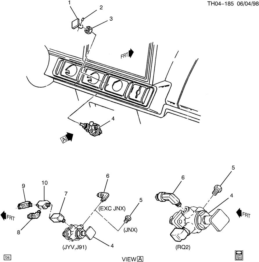 air brake park control to i  p w  fittings  je4  u0026 rq2  jyv  j91