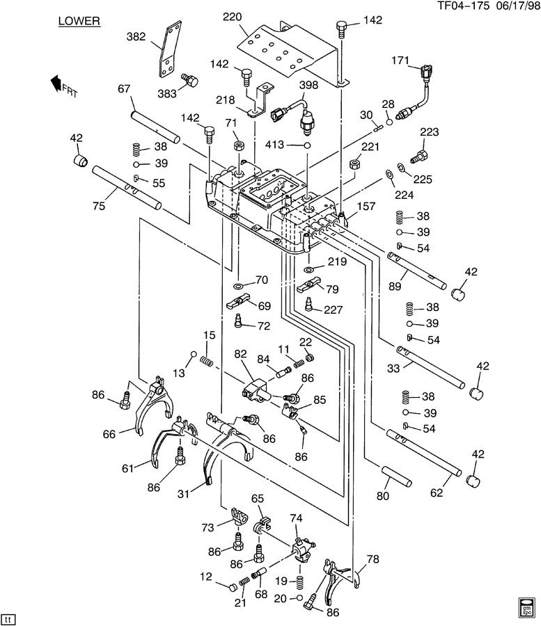 gmc t7500 wiring diagrams