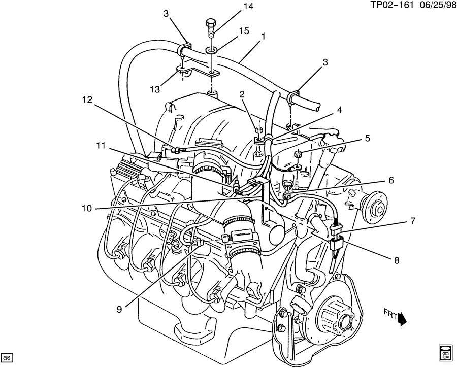 chevrolet p30 wiring harness  engine part 2