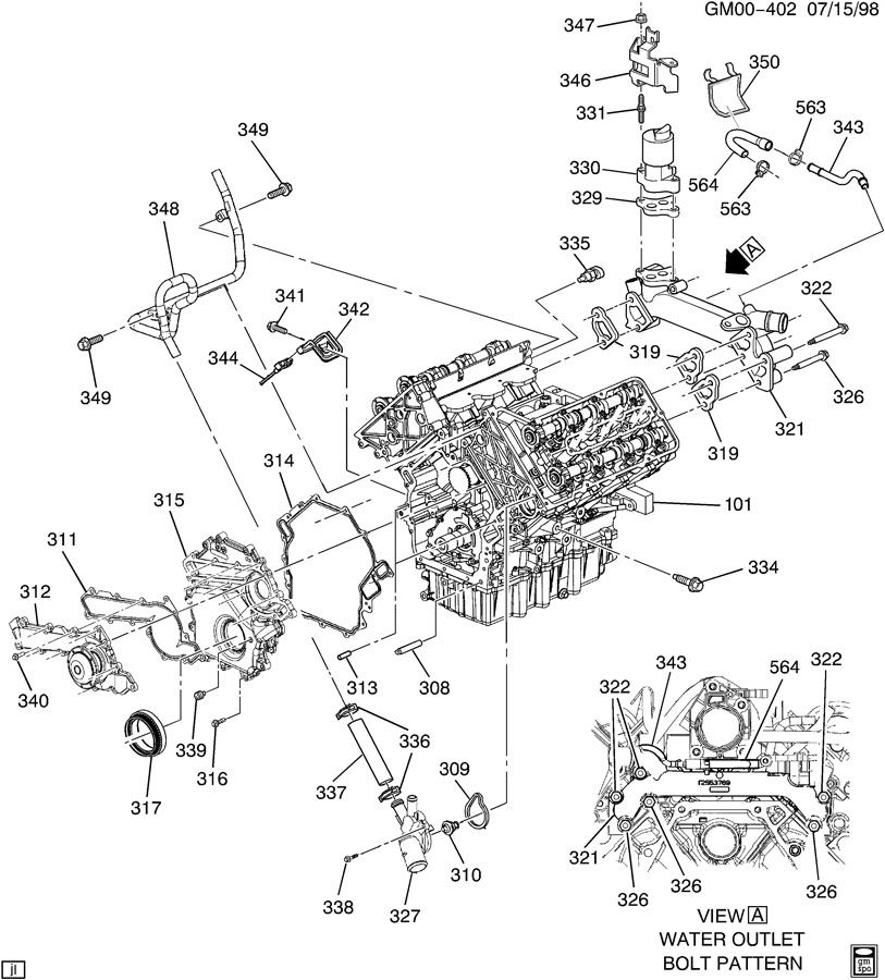 Olds    Intrigue 3 5    Engine       Diagram     Trusted Wiring    Diagrams