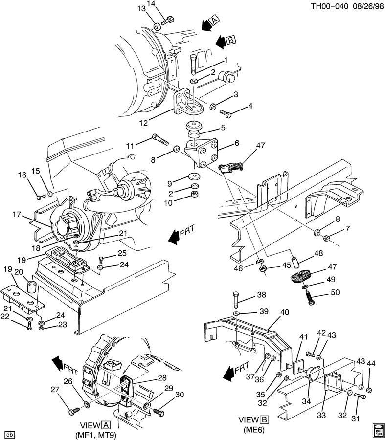 00686924 mount insulator mounting transmission. Black Bedroom Furniture Sets. Home Design Ideas