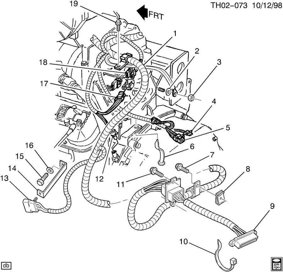 wiring harness  engine part 2