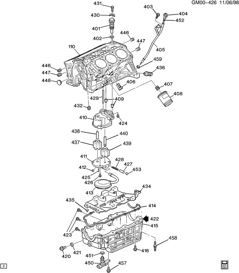 chevrolet trailblazer 4 2 liter diagram chevrolet free engine image for user manual