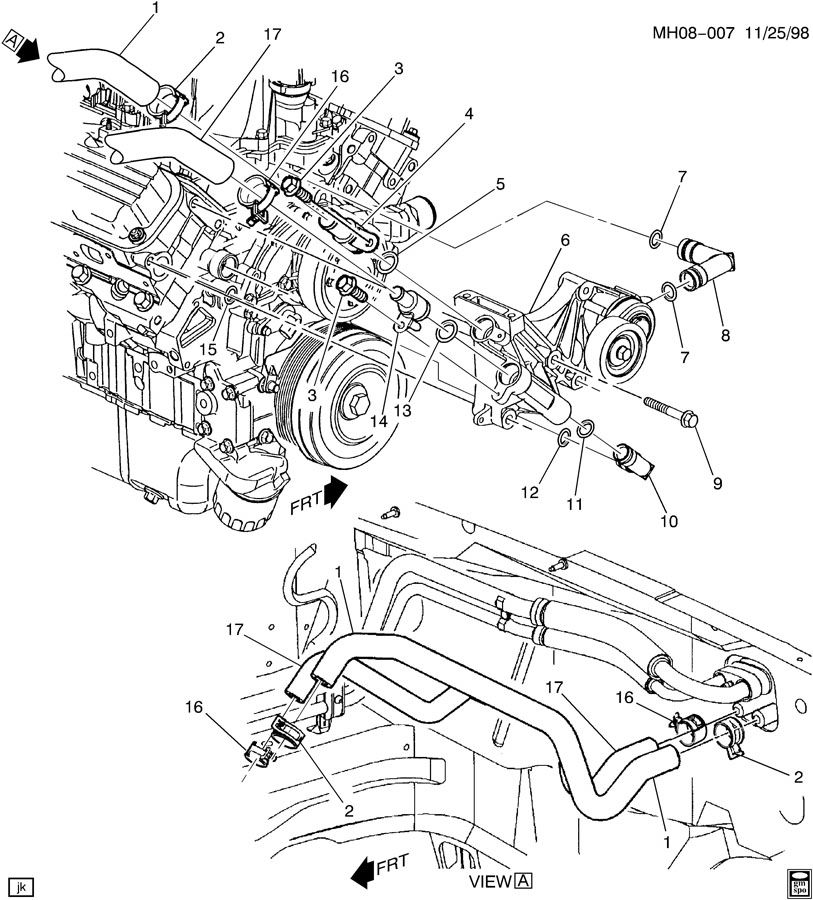 pontiac 3800 engine diagram pontiac image wiring watch more like 2007 pontiac grand prix 3 8 v6 radiator on pontiac 3800 engine diagram