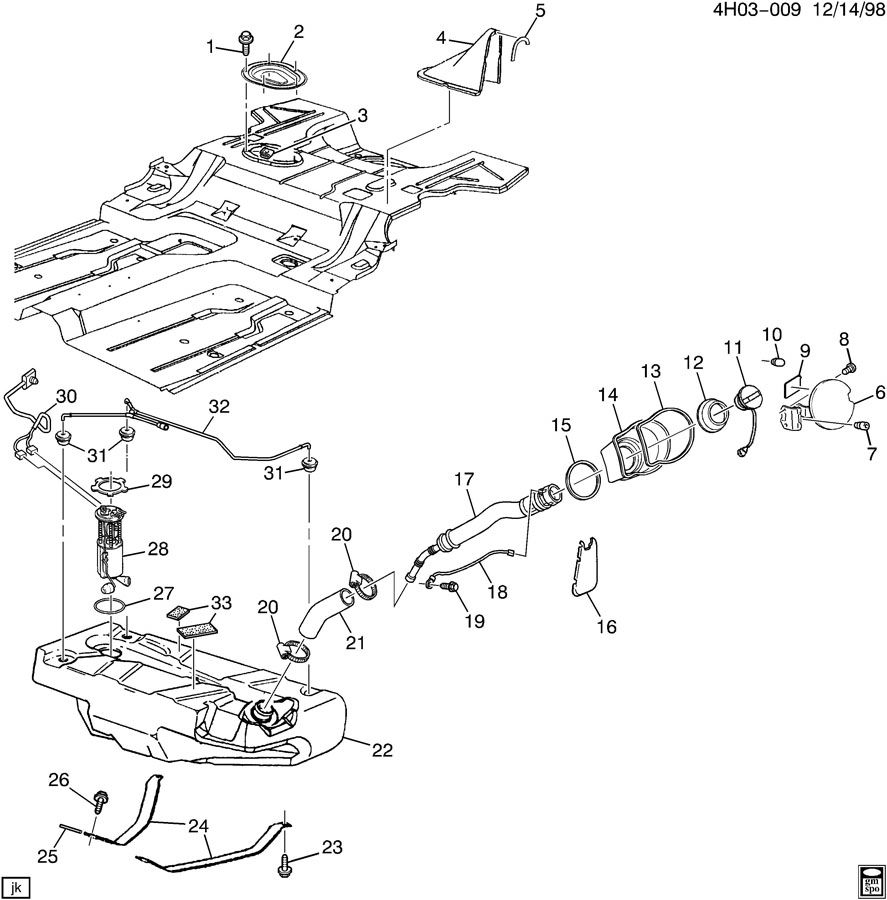 buick rendezvous gas tank parts diagram  buick  auto