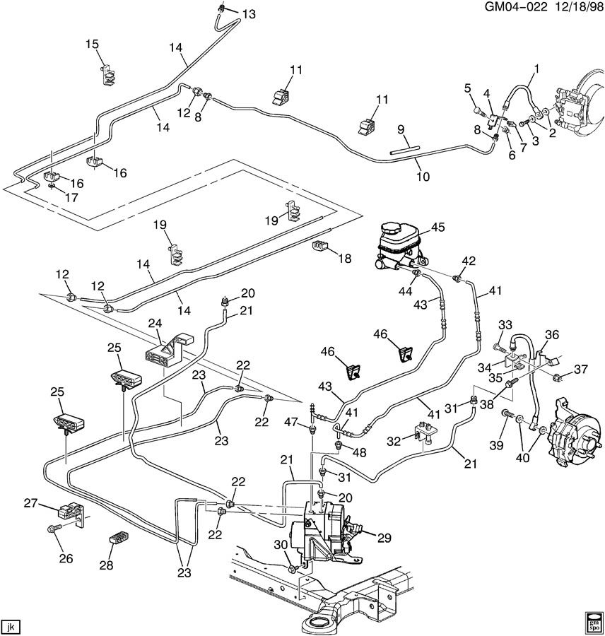 42568 2000 Brake Line Diagram on 2003 Buick Century Fuse Diagram