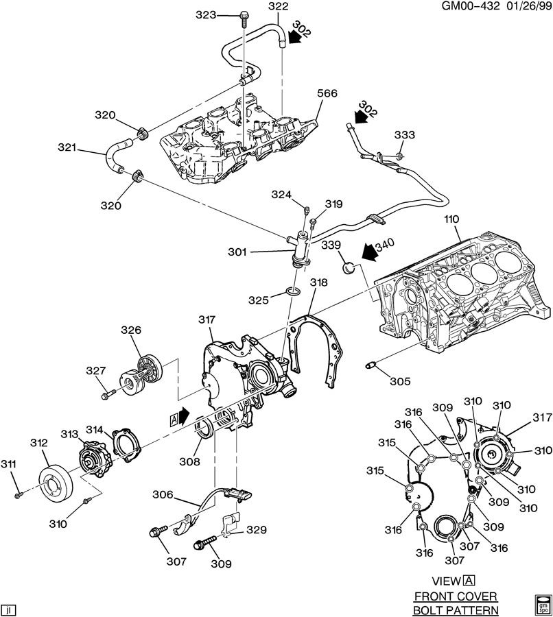 gm wiring   gm 3100 v6 engine diagram