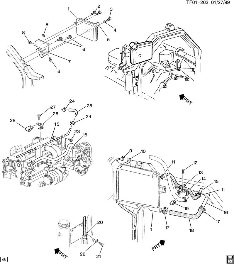 1997 chevrolet bolt  engine mounting  hood latch  hood upper latch  lower hood  radiator