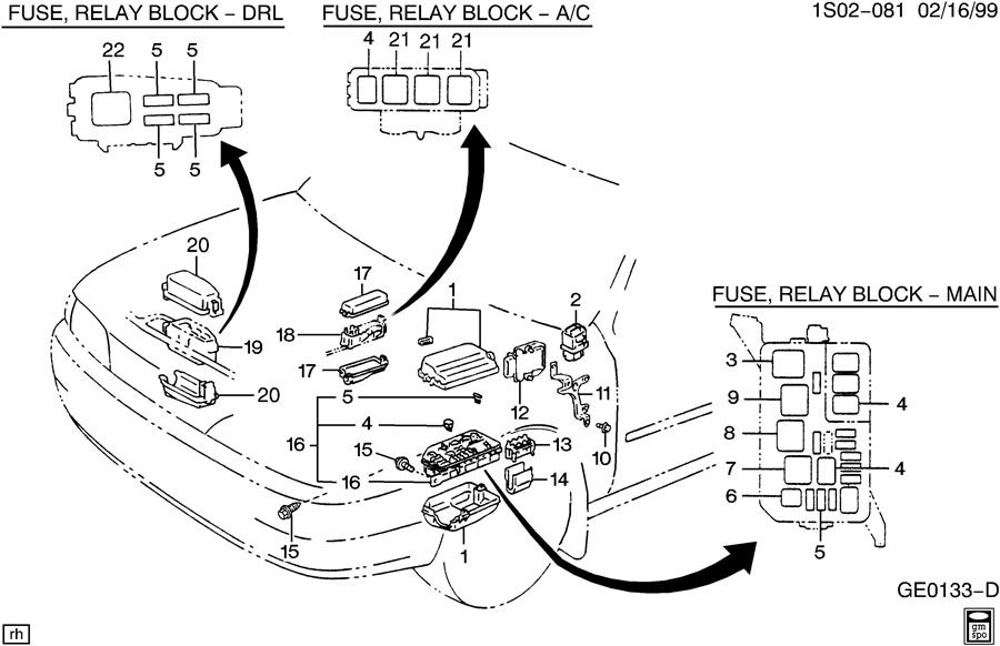 94 geo prizm fuse box experts of wiring diagram u2022 rh evilcloud co uk 1994 geo tracker fuse box location 1994 geo prizm fuse box diagram