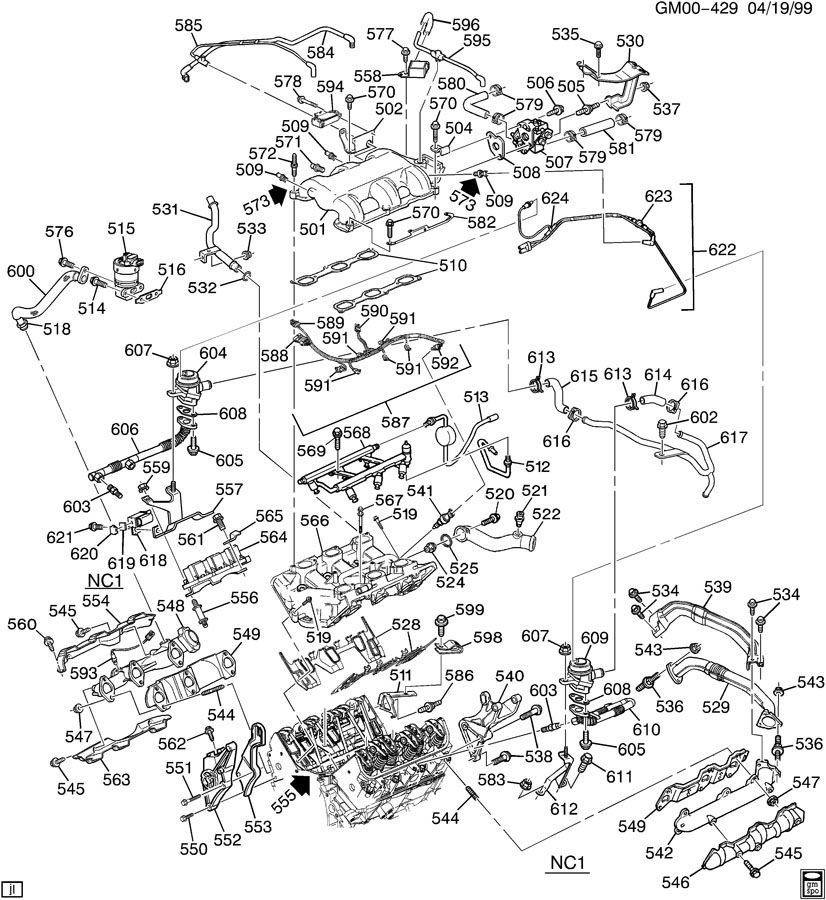 1995 Chevy Monte Carlo Engine Diagram