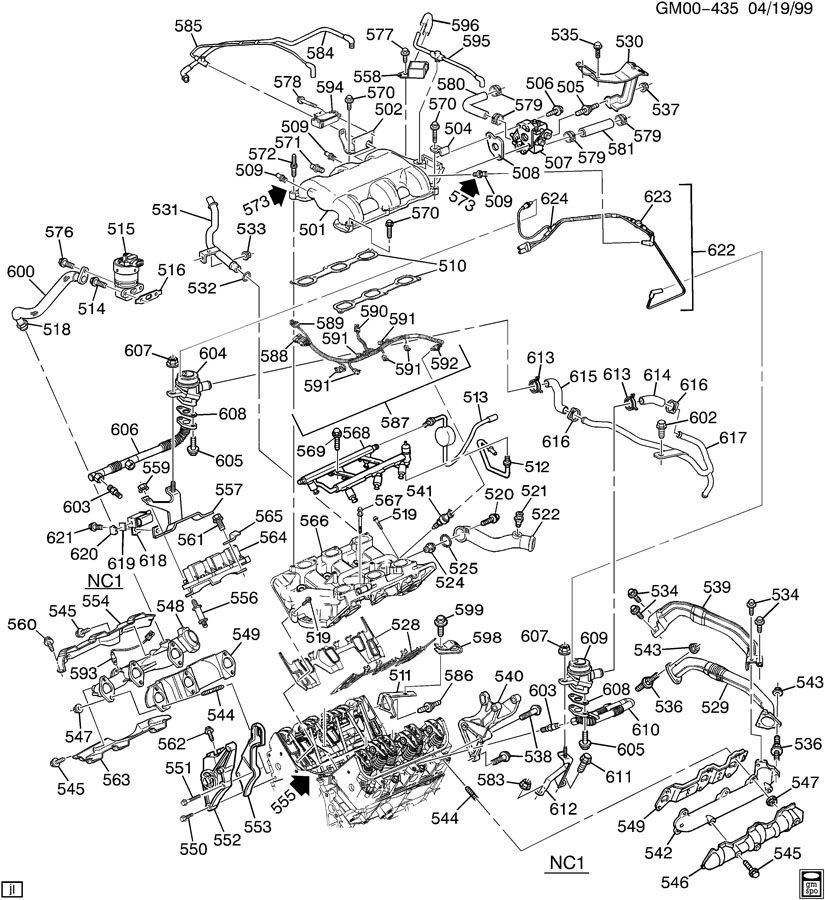 1999 3 8 Pontiac Engine Diagram