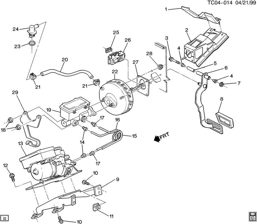 power brake booster vacuum hydraulic