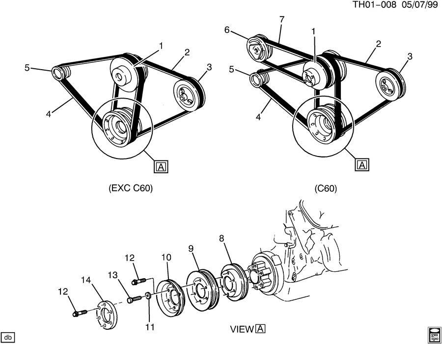 15609033 gmc pulley engine crankshaft wholesale gm. Black Bedroom Furniture Sets. Home Design Ideas