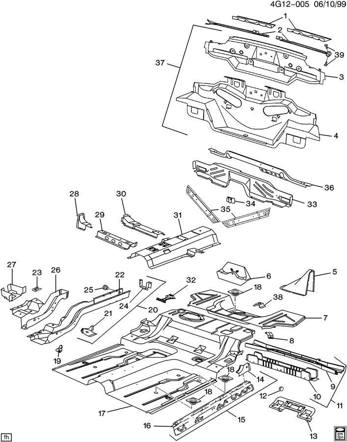 1995 Buick Riviera Body Parts