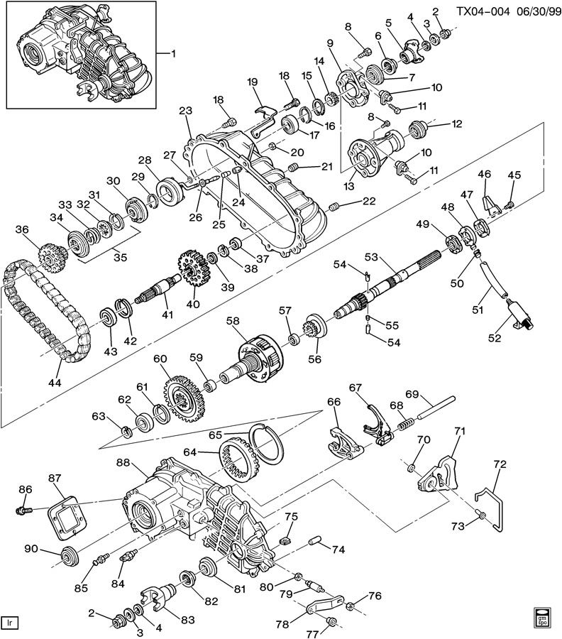 borg warner transfer case