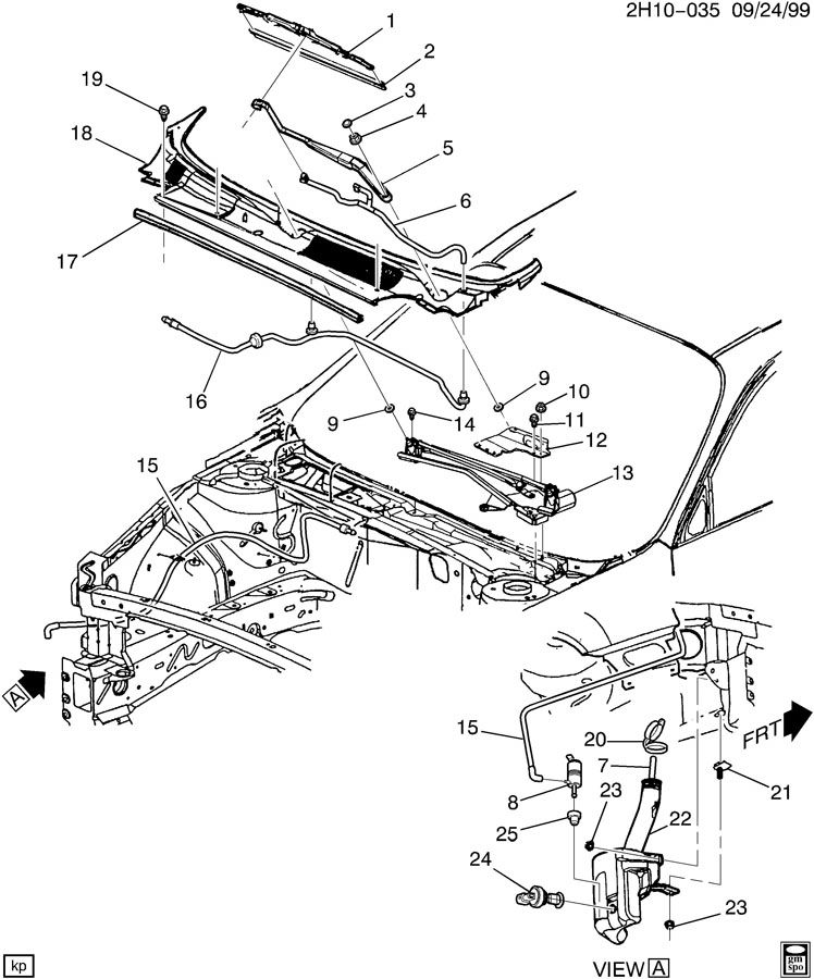 wiper system  windshield