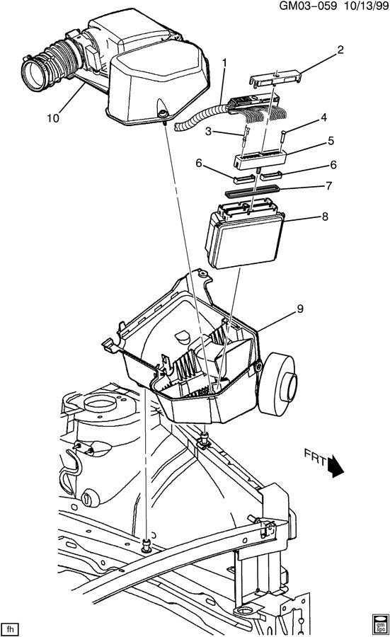 p c m  module  u0026 wiring harness