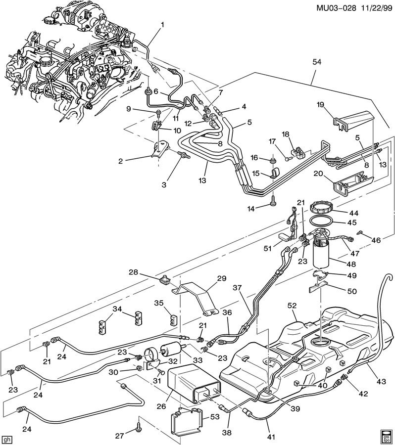 991122MU03 028 radio wire diagram 2001 aztek radio free wiring diagrams 2004 pontiac aztek radio wiring diagram at gsmx.co