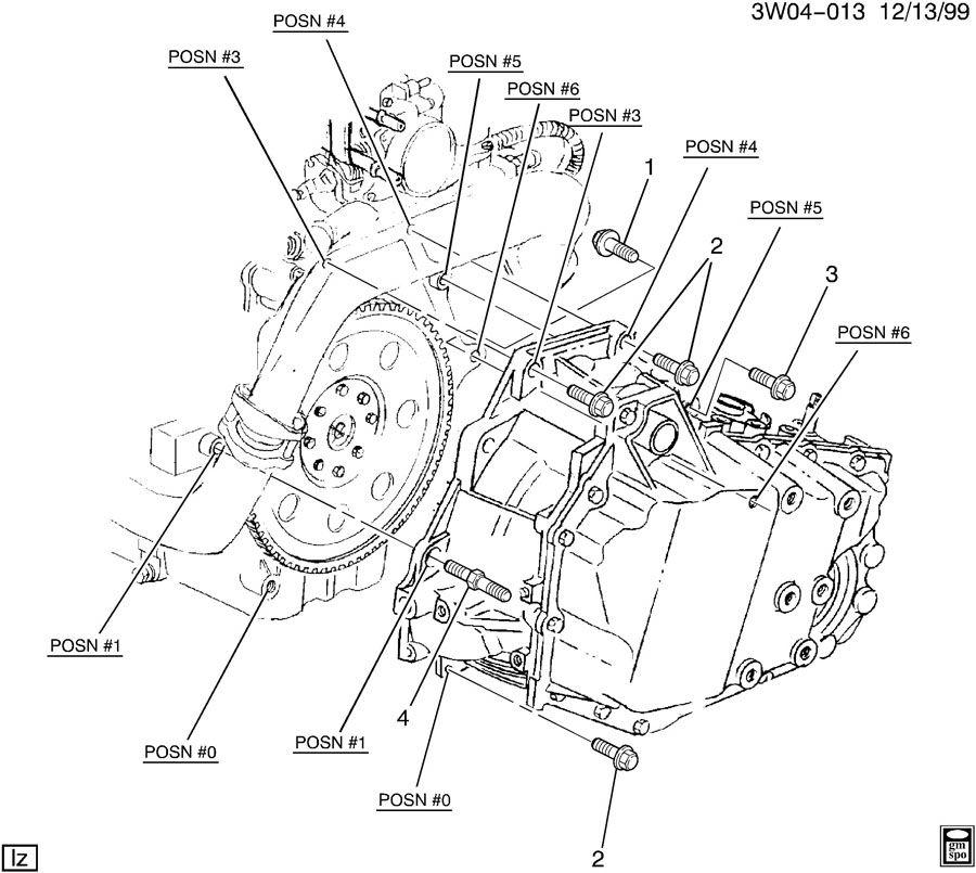 2000 buick lesabre engine mount diagram