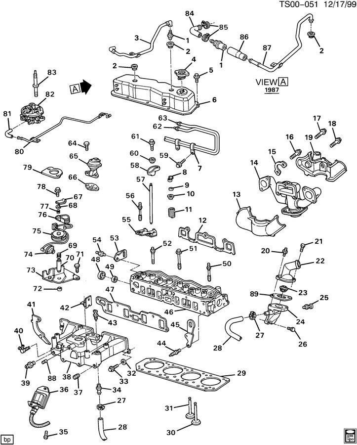 Chevrolet P30 Valve  Heater  Heater Coolant Flow