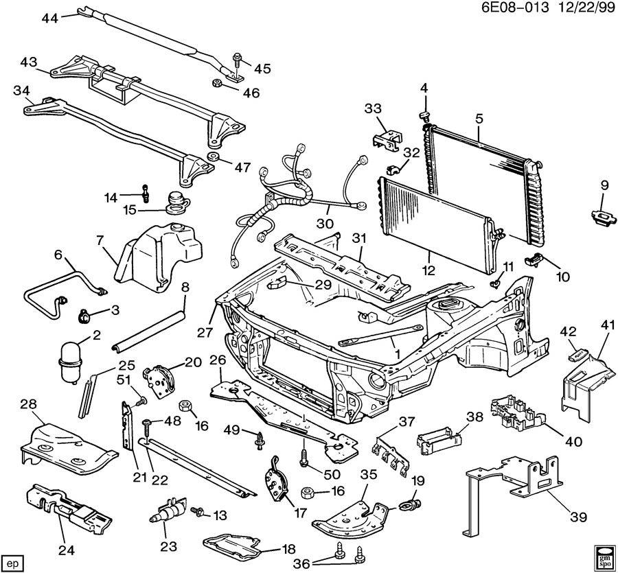 1990 Chevrolet Lumina Sheet Metal  Front End Part 3