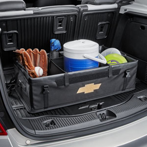 2010 Chevrolet Camaro 1Ls >> Chevrolet Equinox Collapsible Cargo Organizer in Black ...