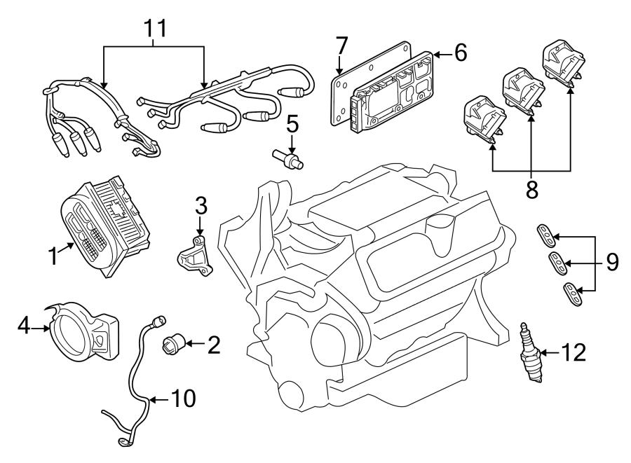 2001 Chevrolet Monte Carlo Ss Harness  Camshaft Sensor