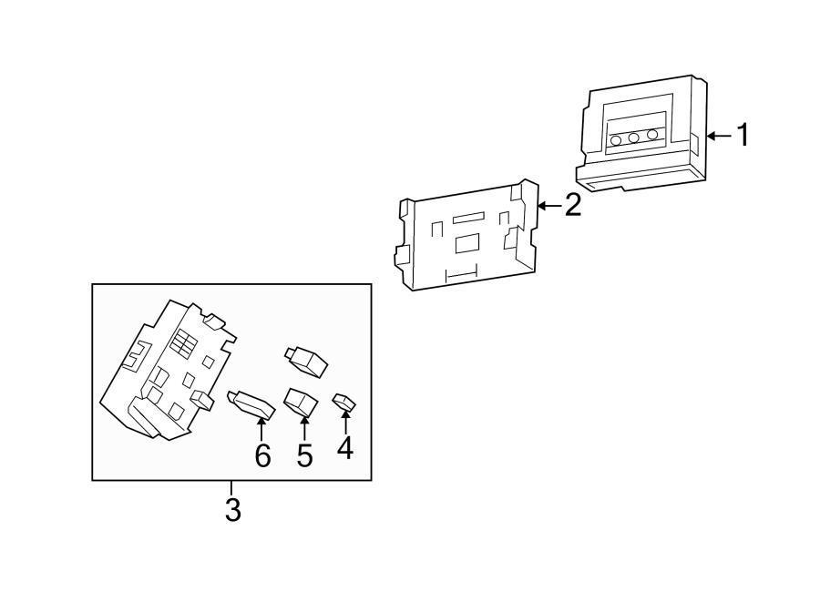 12182116 chevrolet circuit breaker compartmentrear